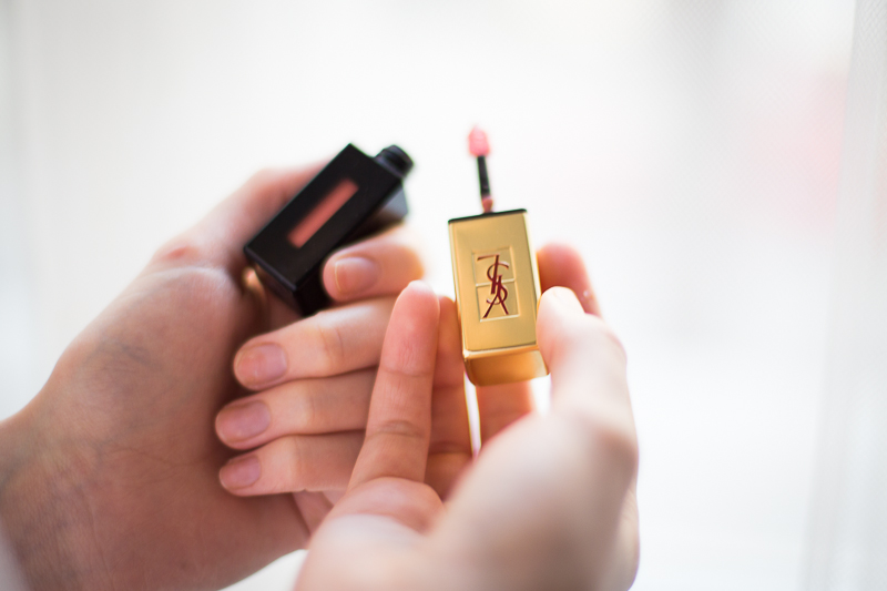 Get ready with me-orange-spring-Makeup-Rouge-Lippenstift