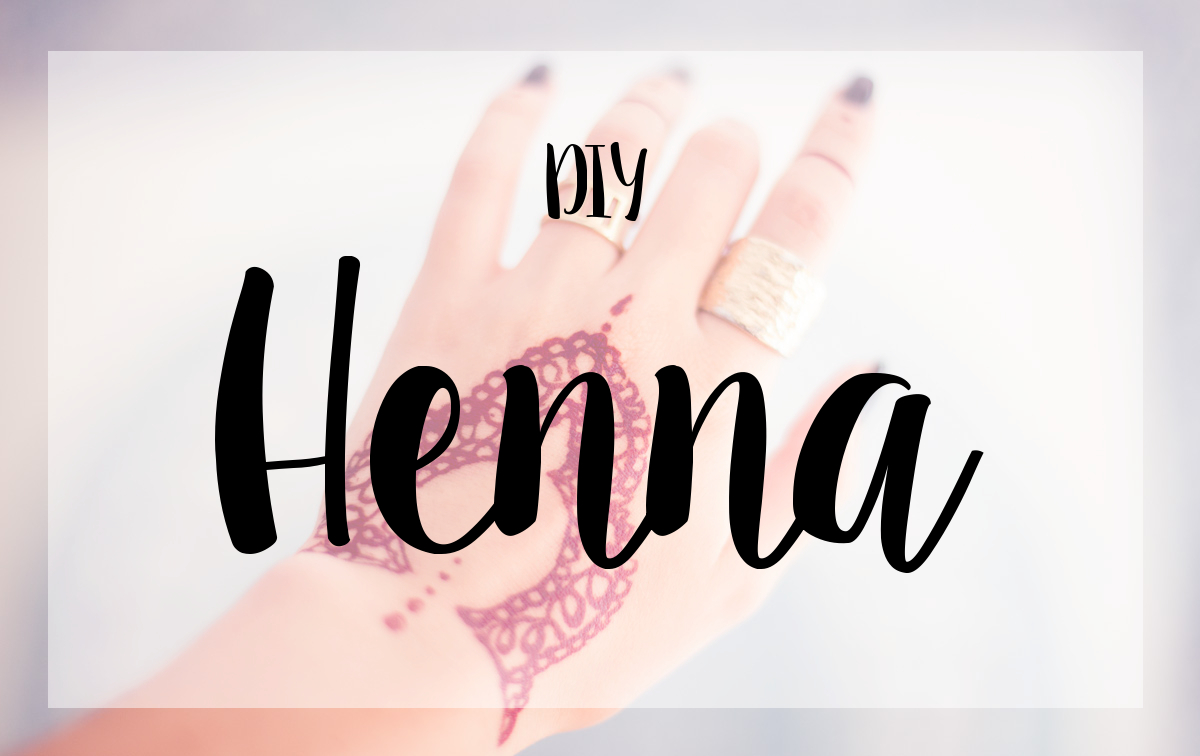 Henna-DIY-Tattoo