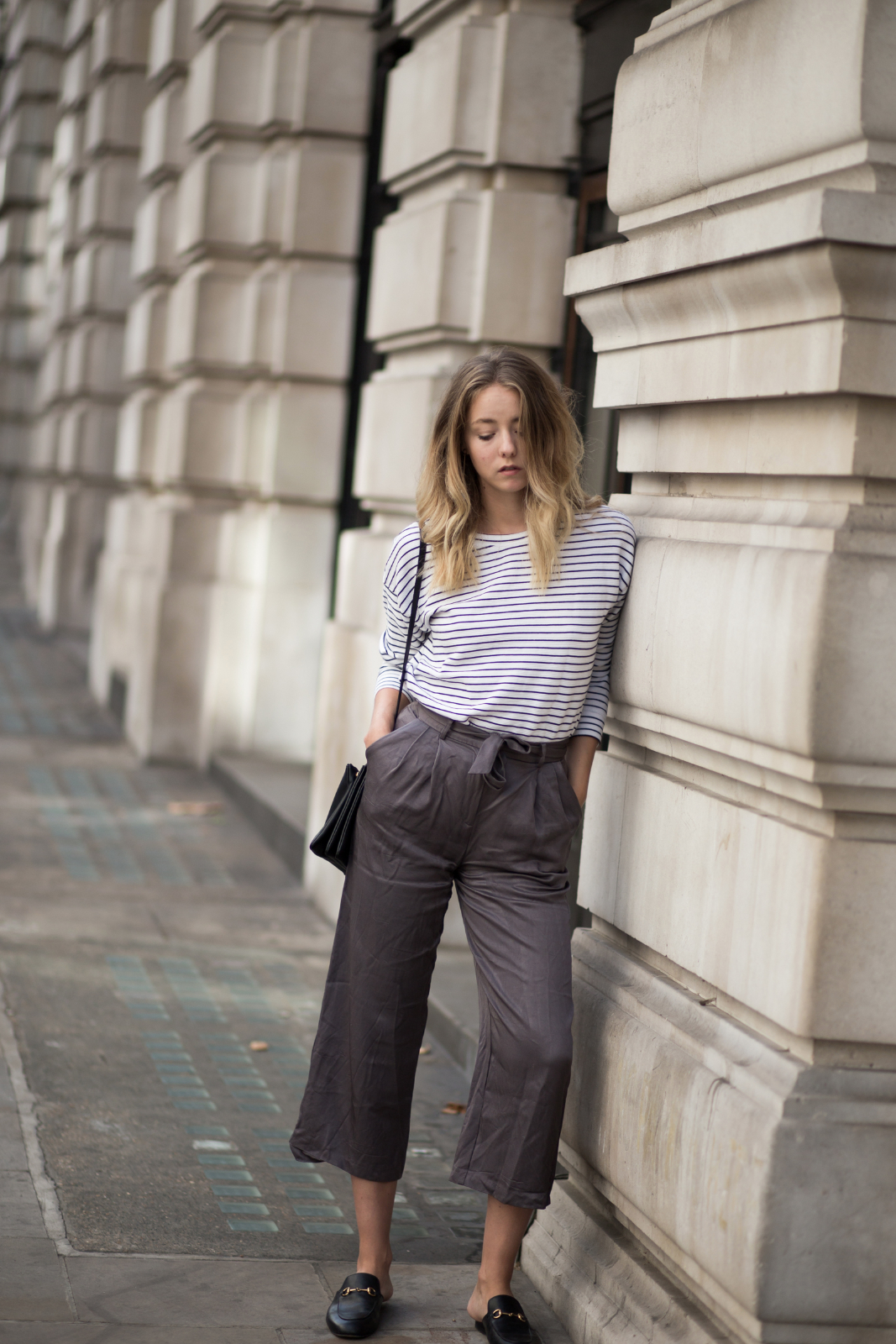 Fashion-Fashionblogger-Blogger-Berlin-Deutschland-Modeblog-Modeblogger London Travel Culottes Streifenshirt
