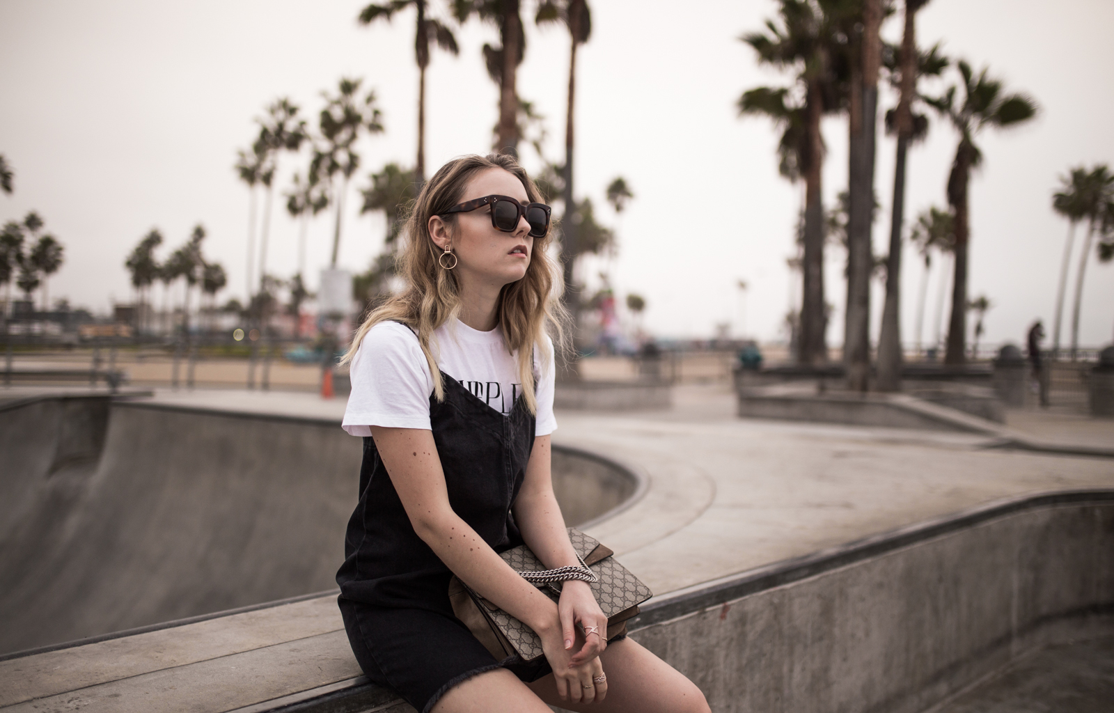 Jeans Slipdress Ganni Murphy Shirt Venice Skate Park Los Angeles The-Limits-of-Control-Fashion-Fashionblogger-Blogger-Berlin-Deutschland-Modeblog-Modeblogger