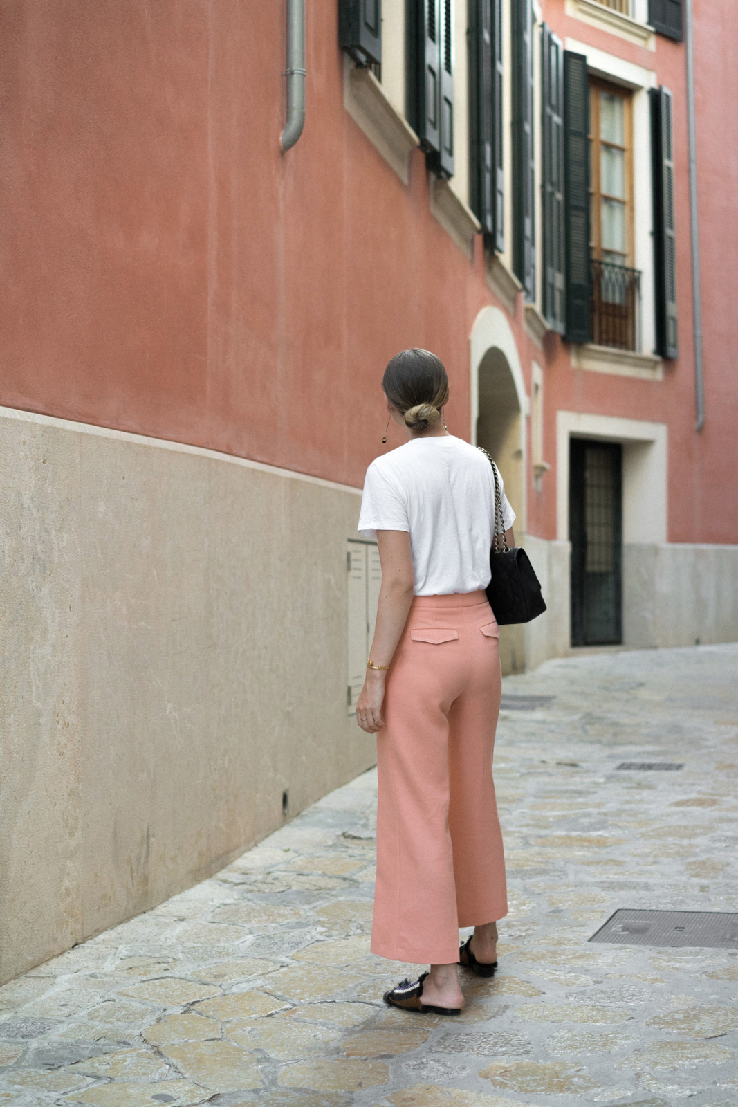 Fashionblogger_Berlin_Deutschland_Germany_Apricot_Uterque_Culottes