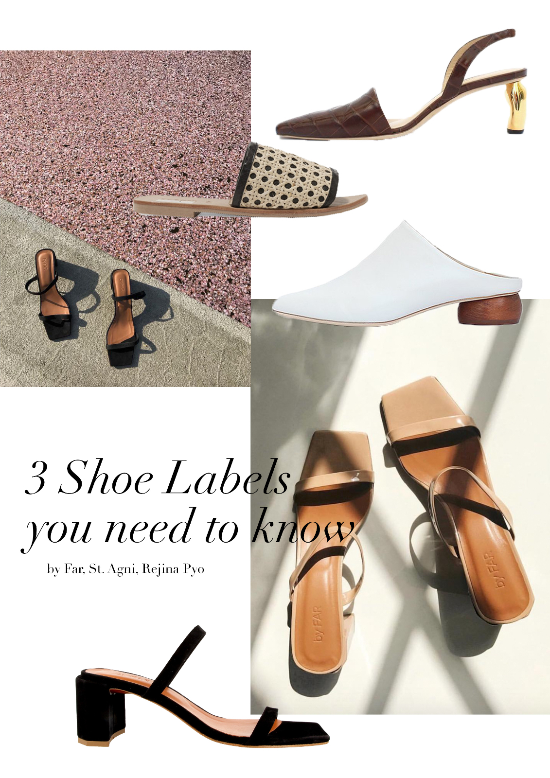 Discovered: 3 Shoe Labels you need to know