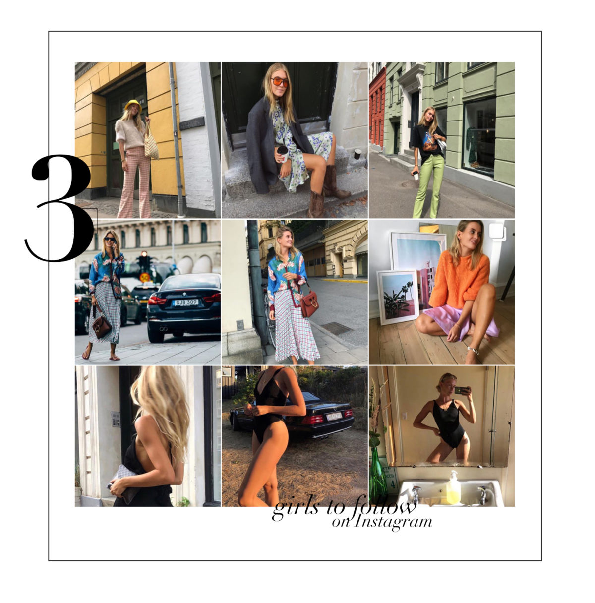 3 Girls to follow on Instagram & Shop the Looks