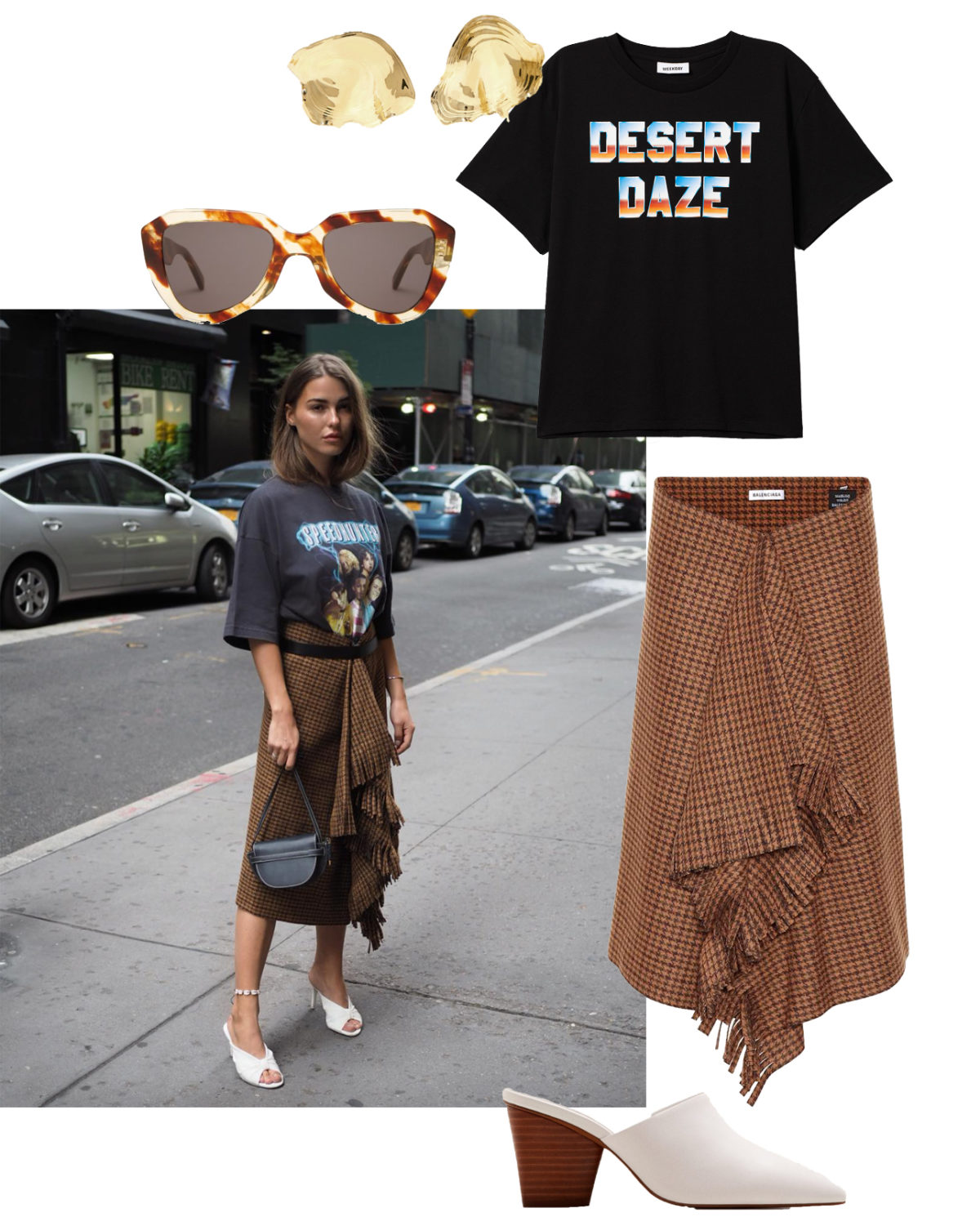 Instagram Looks I love: The Scarf Skirt