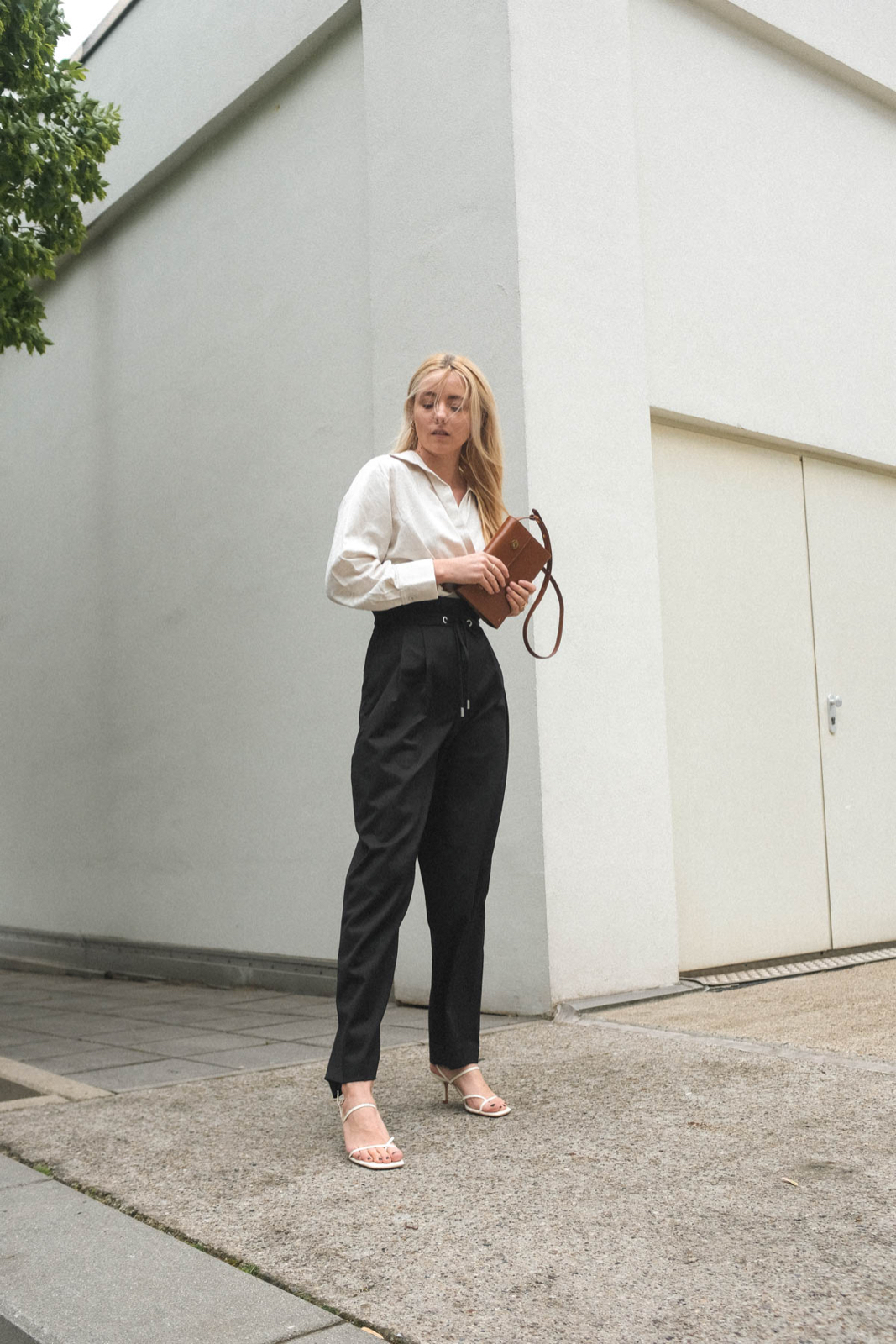 Outfit: Paperbag Pants