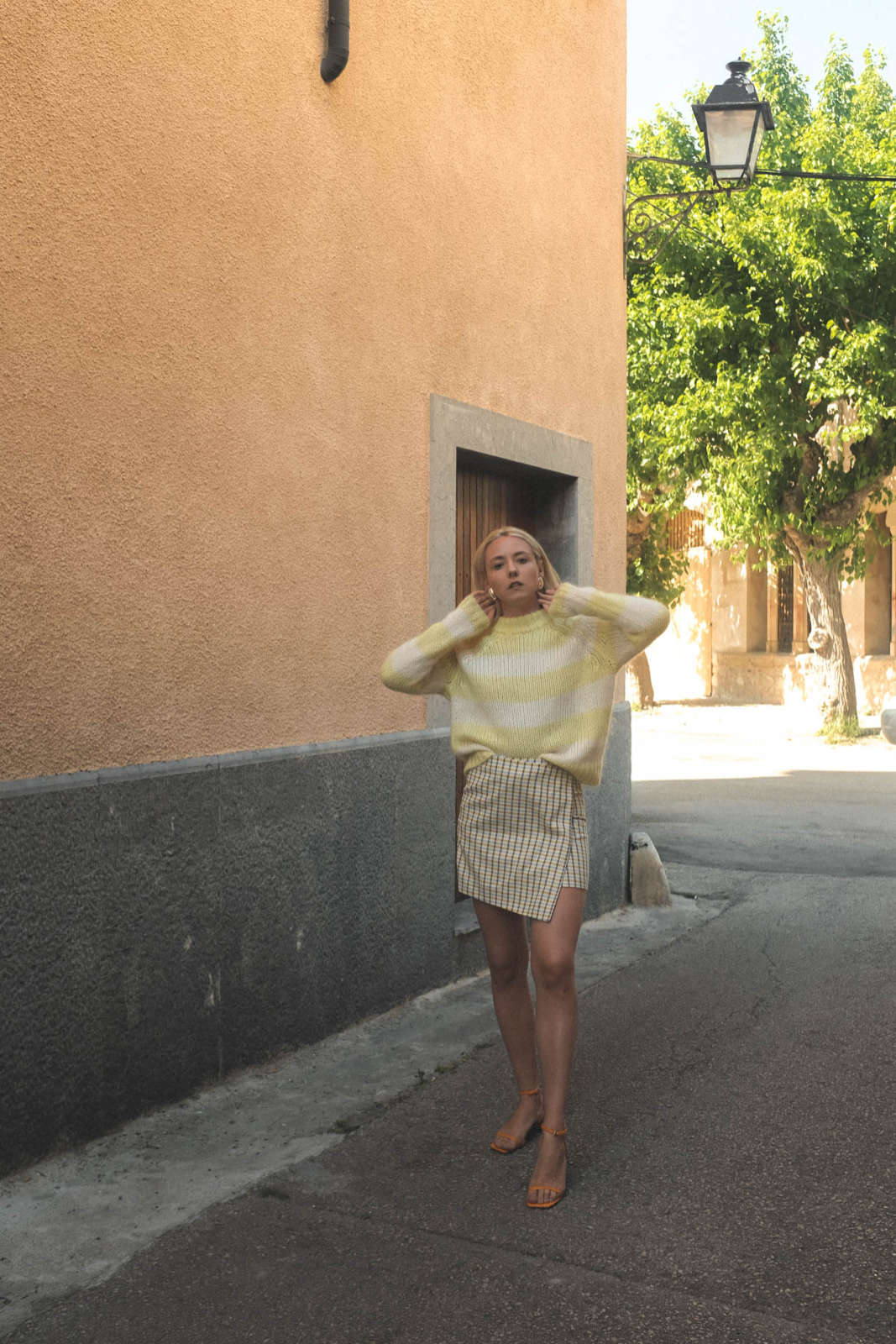 Outfit: Yellow Patternmix