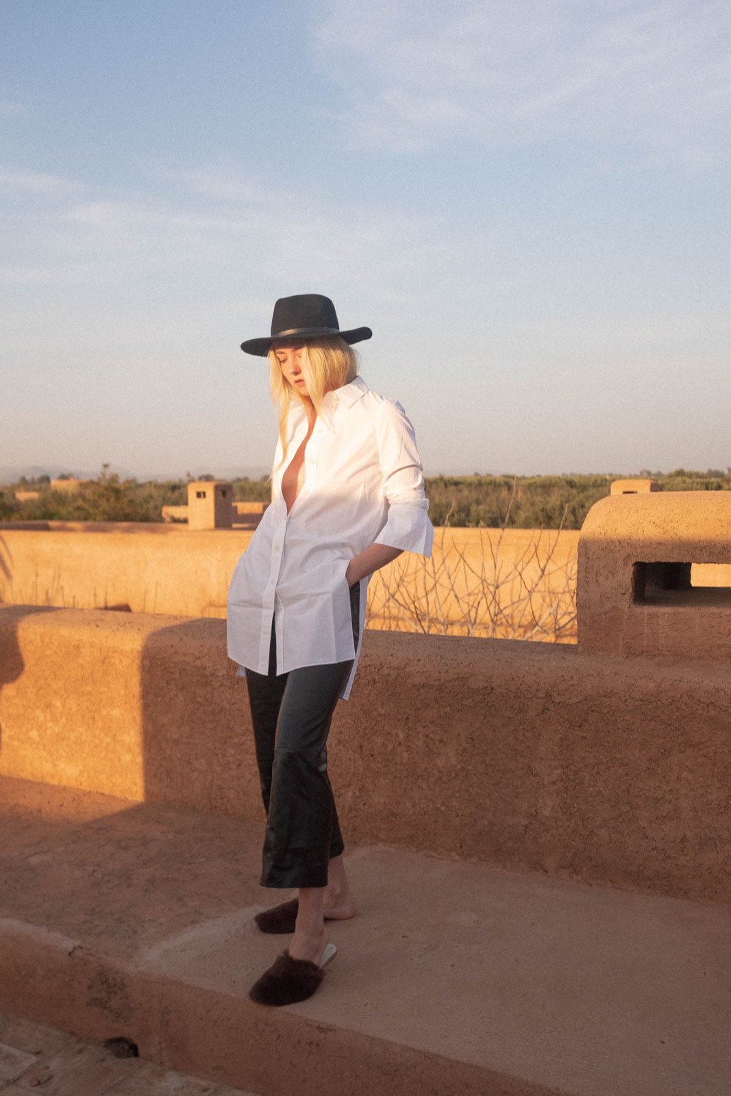 Outfit: Sunset in Morocco