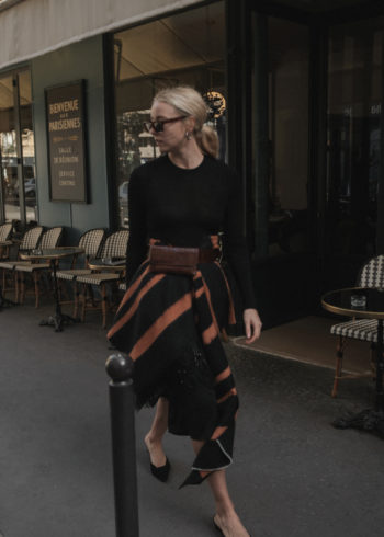 Outfit: The Scarf Skirt